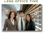 less office time